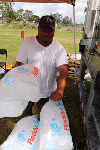 Photos: FEMA supplies handed out in Fort Myers