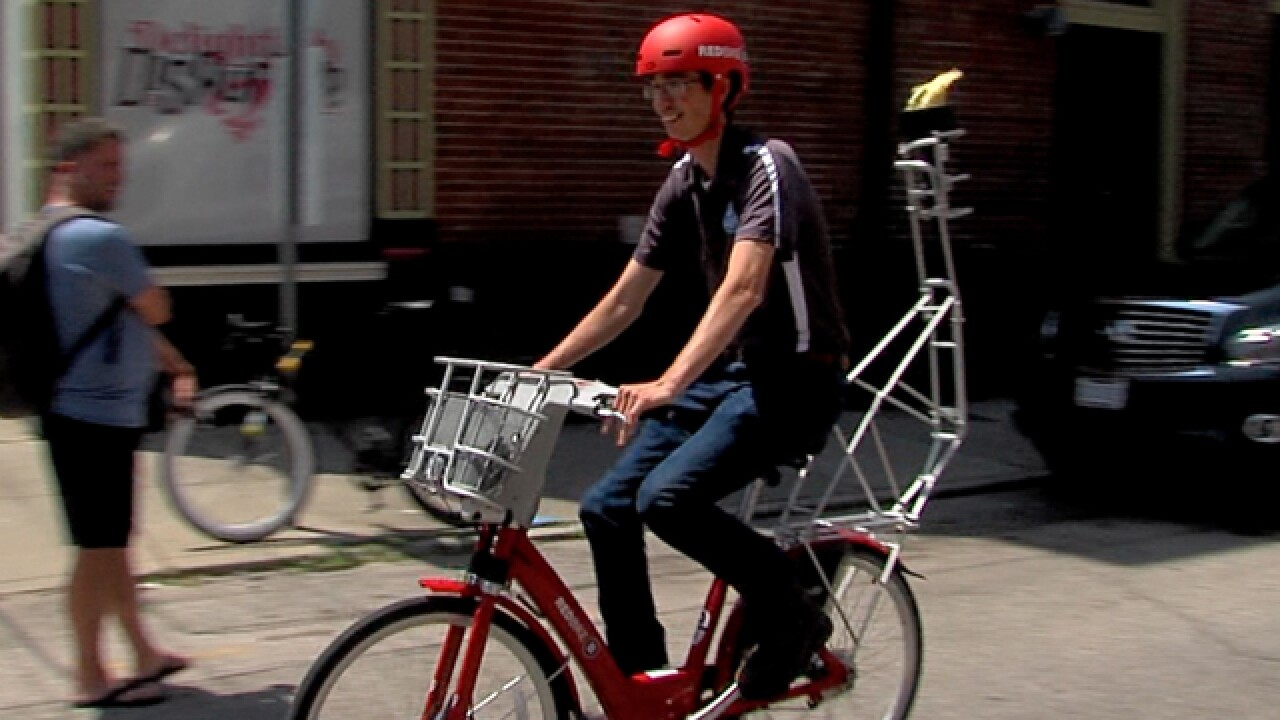 Red Bike 'torch relay' to kick off 2018 Cincinnati Neighborhood Games