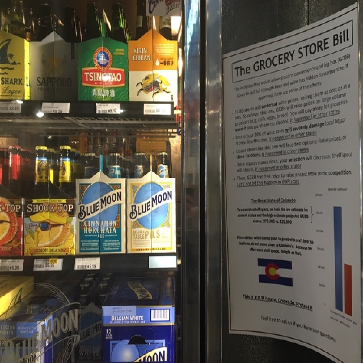 Colorado Grocers Can Offer Full-strength Beer On Jan. 1