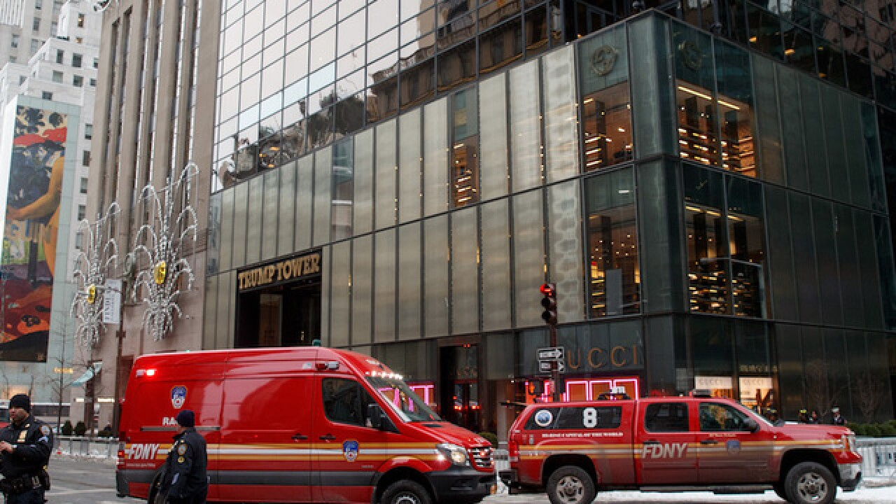 3 injured in Trump Tower fire