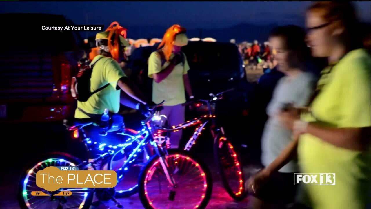 Utah Adventure: Antelope by Moonlight BikeRide