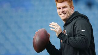 Andy Dalton goes to space — sort of