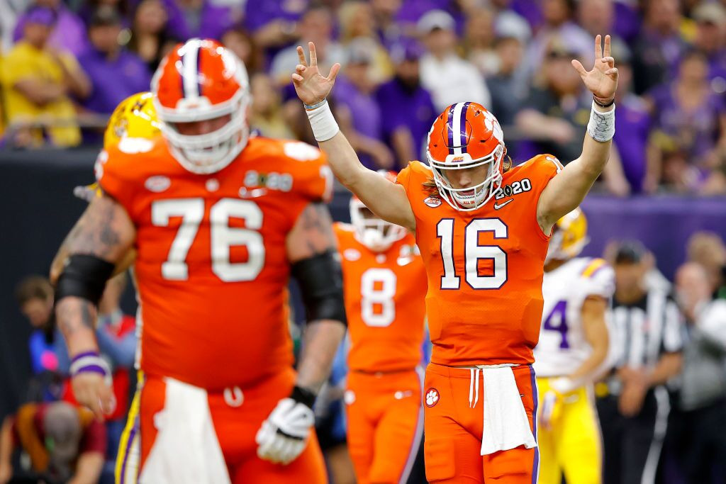 College Football Playoff National Championship - Clemson v LSU