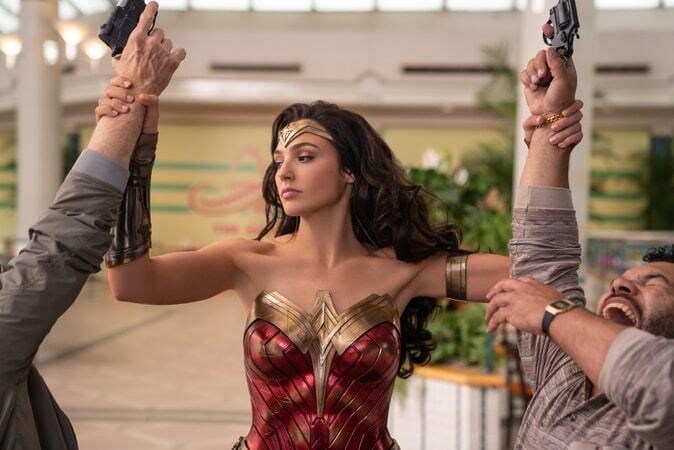 Gal Gadot in 'Wonder Woman 1984' promotional image