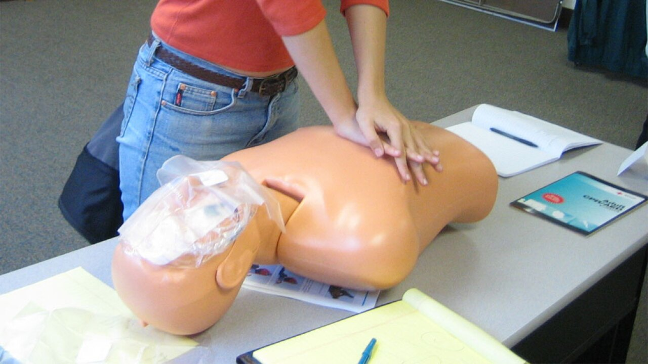 WPTV CPR Dummy