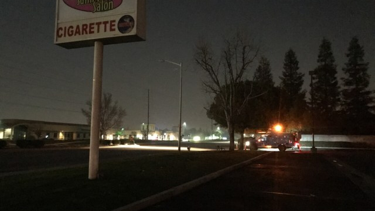 Power outage in NW Bakersfield