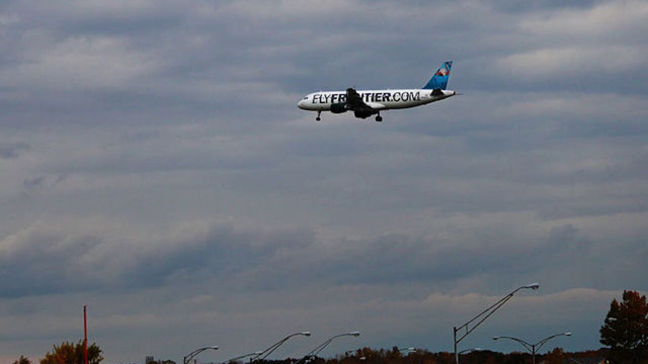 Passenger: Man assaulted women, urinated aboard Frontier flight from Colorado to S. Carolina