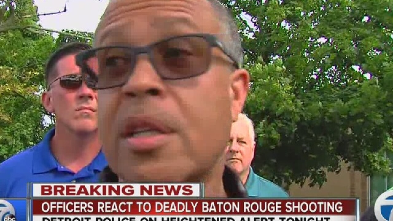 DPD on heightened alert after Baton Rouge