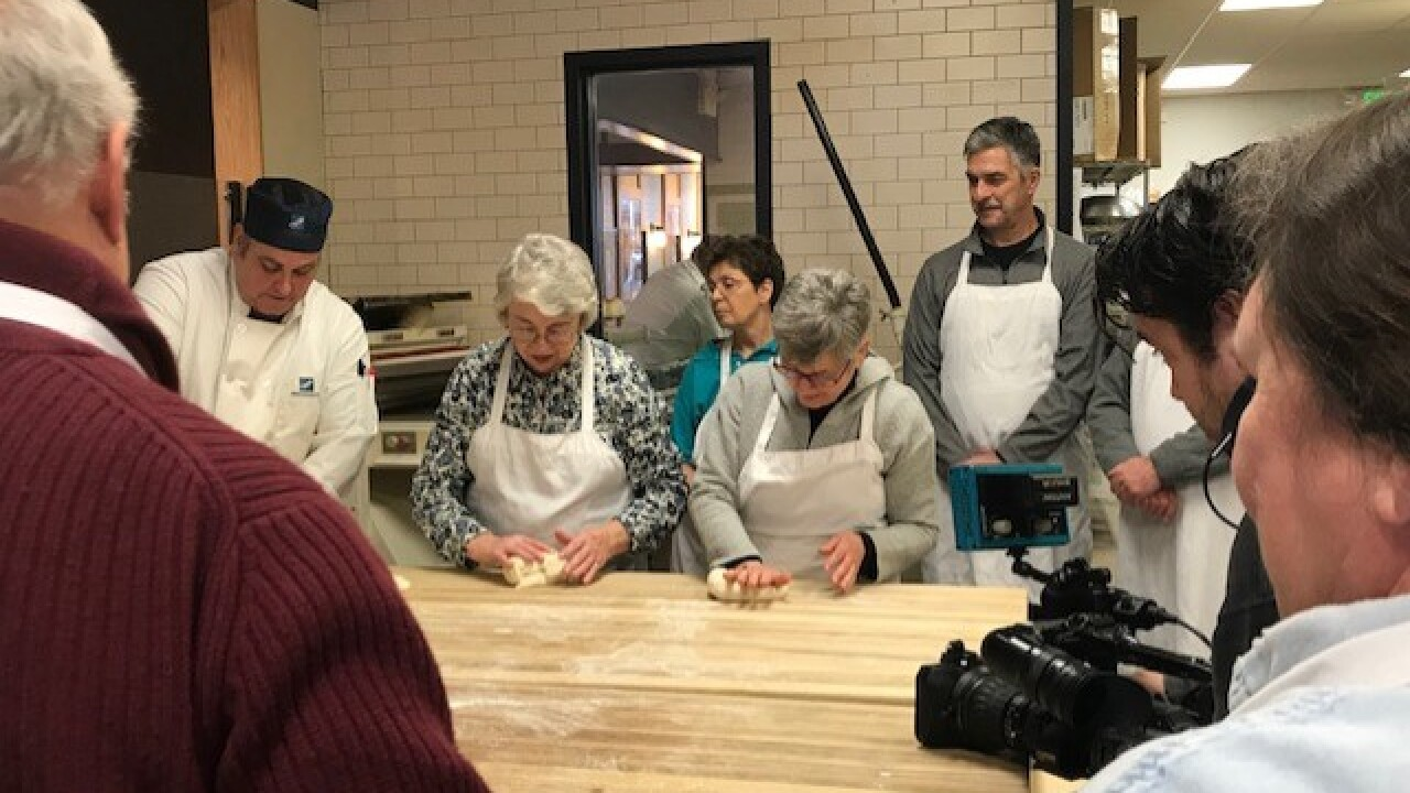 Lifelong learners at UWM program learn to make bread from scratch