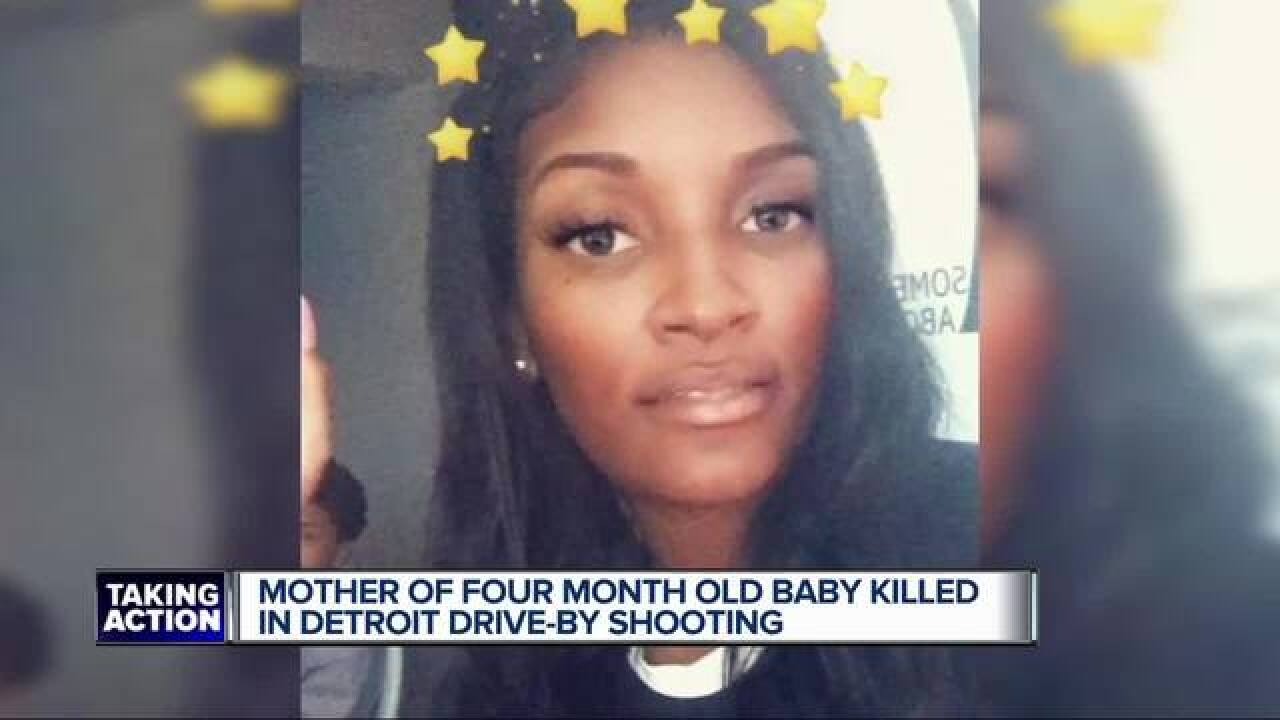 Detroit family asks for peace after child's mother killed in drive-by