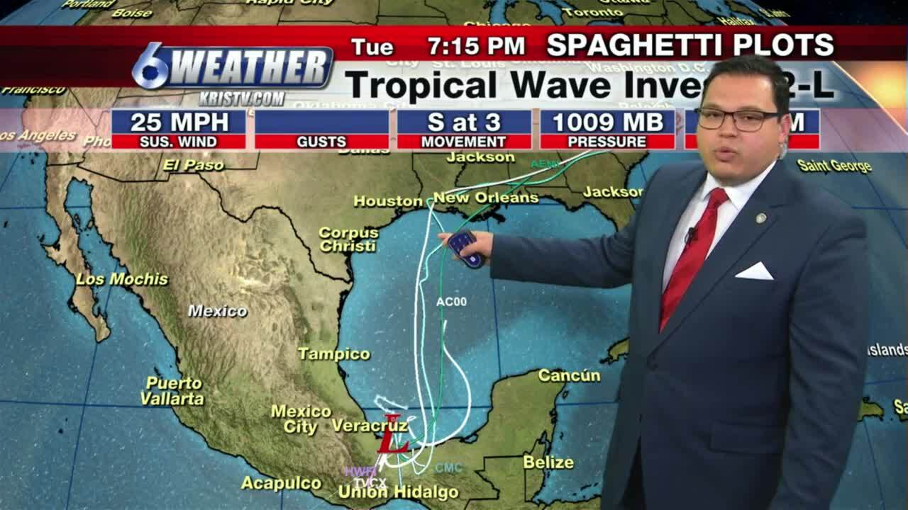 Juan Acuña's noon weather forecast from June 15, 2021