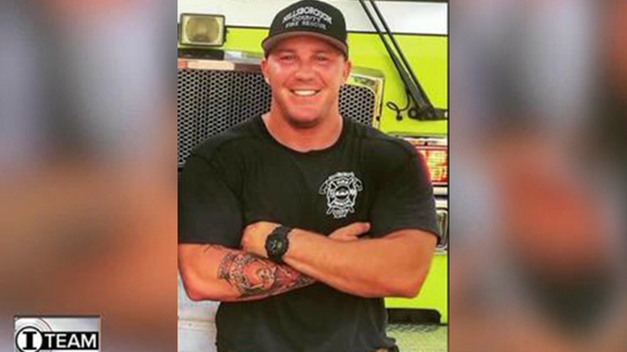 Firefighter accused of withholding evidence