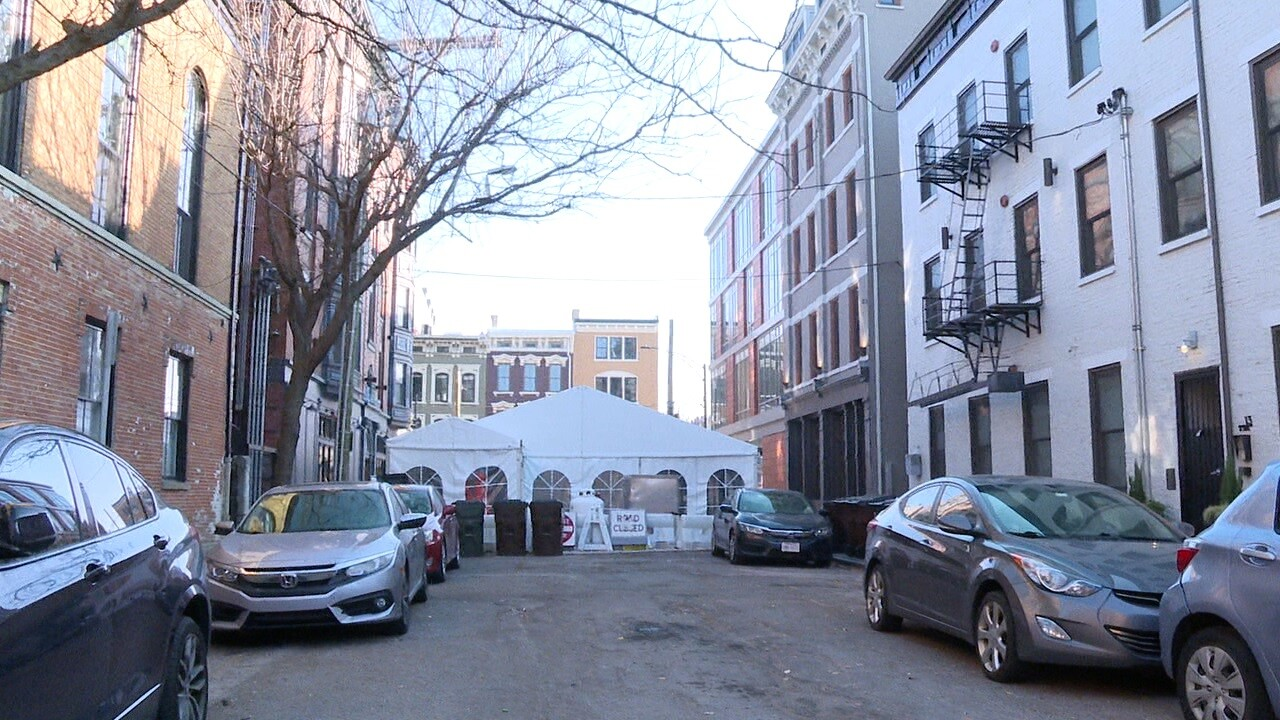 OTR parking and dining