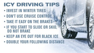 Icy Driving Tips