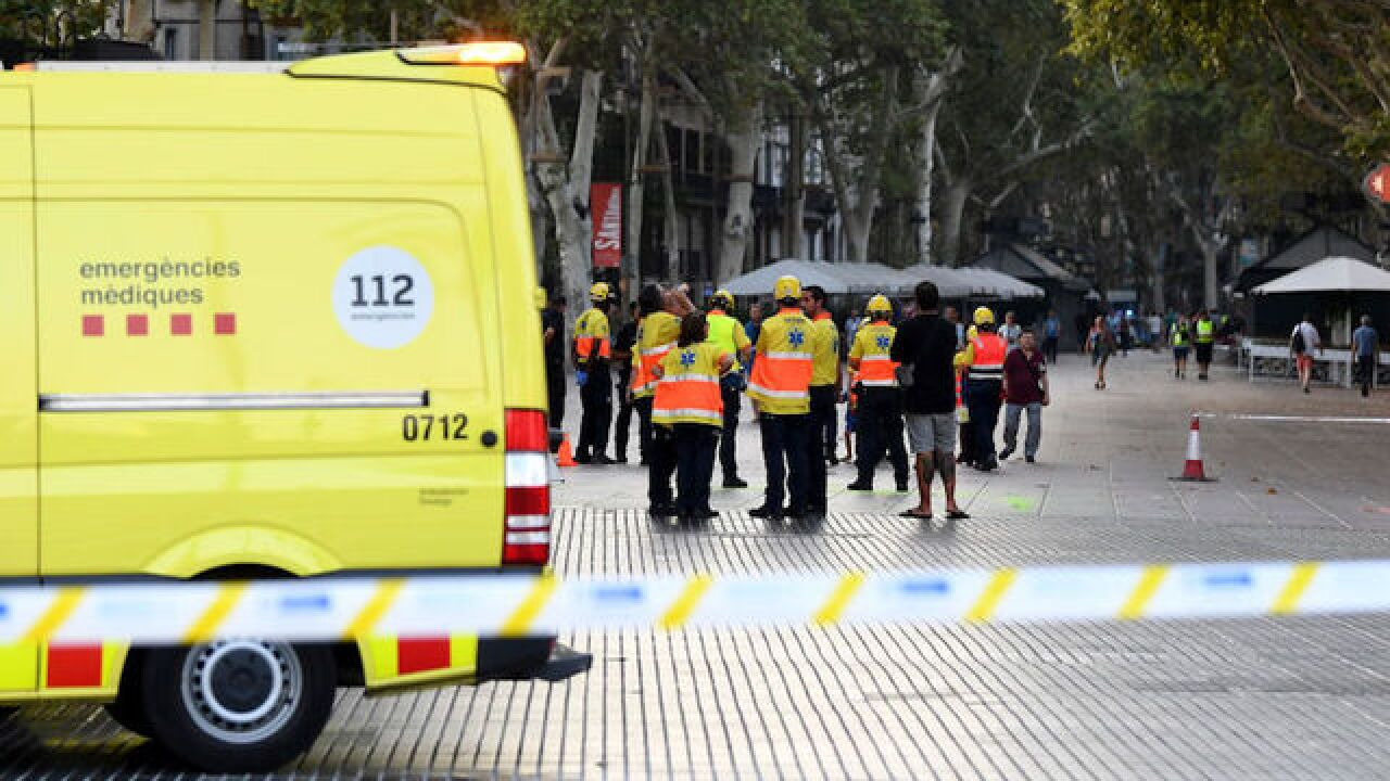 Vehicles as weapons: Barcelona crash is part of a deadly trend
