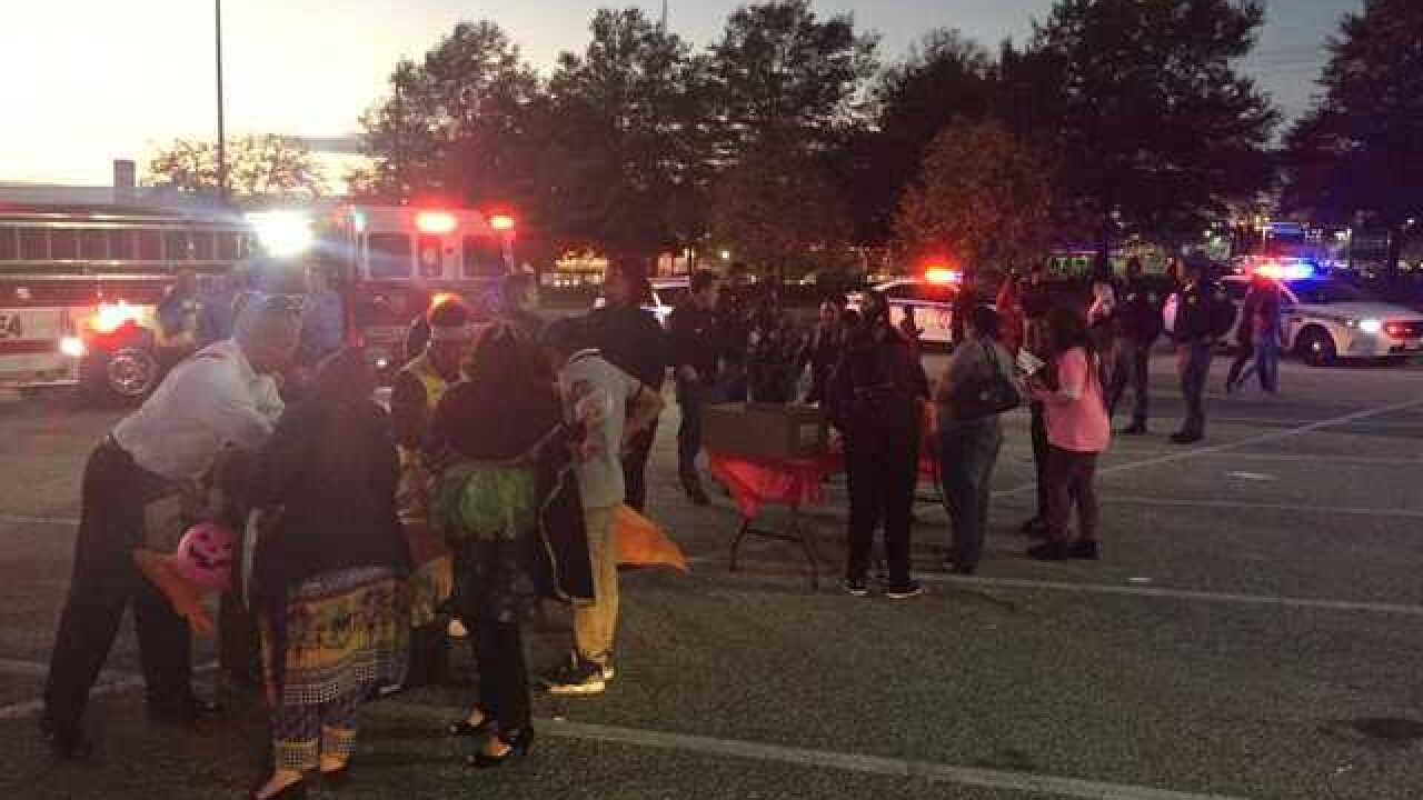 Baltimore Co. officials celebrate Halloween