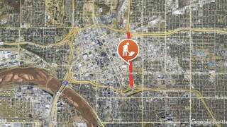 U.S. 75 road closure map.jpg