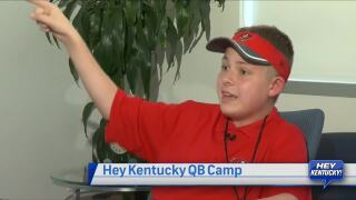 Hey Kentucky QB Camp Featuring Jared Lorenzen