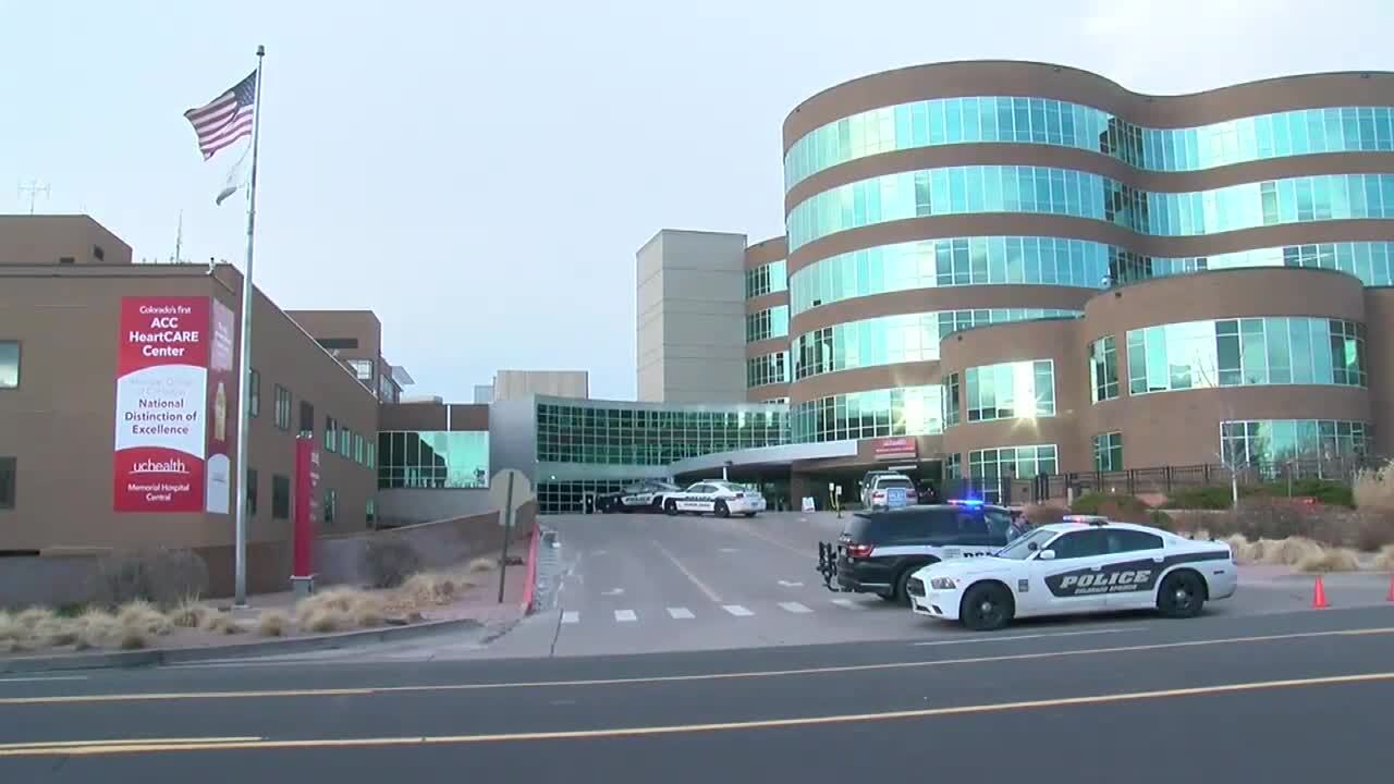 Police presence at UCHealth Memorial Hospital Central