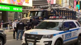 Times Square Tractor Trailer