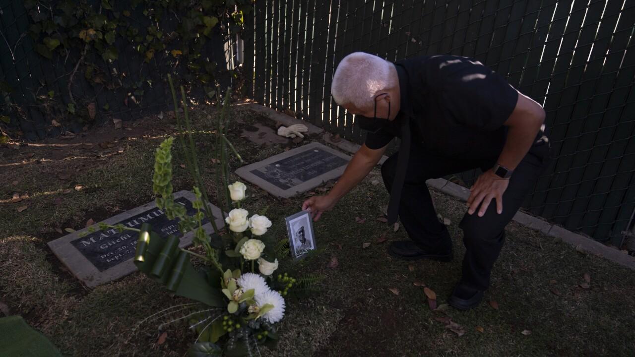 US Japanese Internee Final Burial