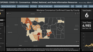 Montana unveils revamped Covid-19 response map