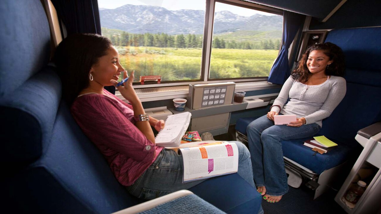 Amtrak tickets are buy one, get one free right now