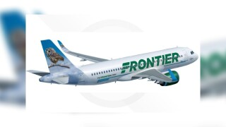 Frontier Airlines will feature Rockefeller Christmas tree owl on plane tail