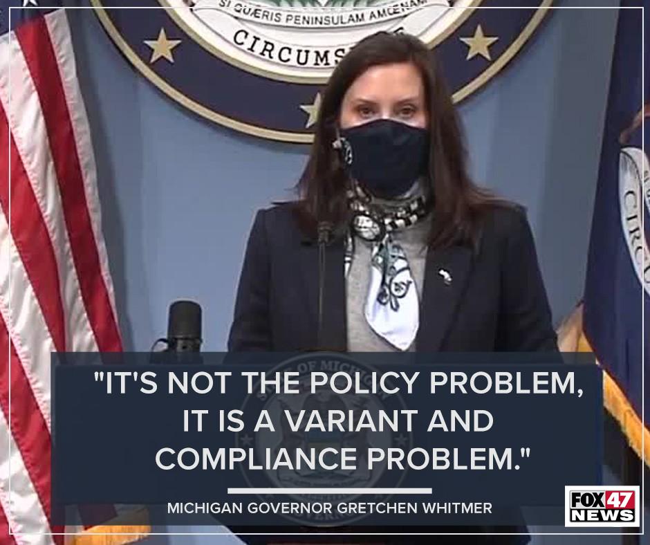 Governor Gretchen Whitmer Quote