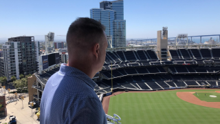 Padres fan hoping to 'share' view of Petco Park during baseball season