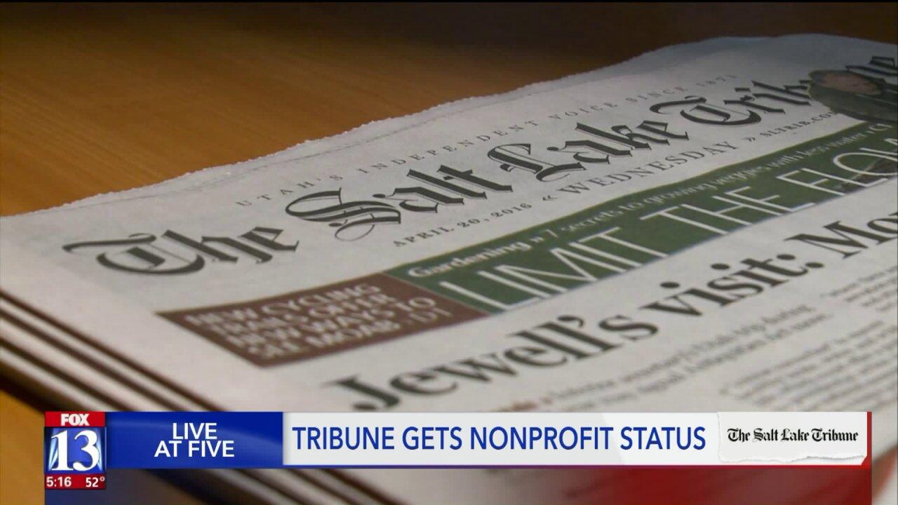 Tribune steps into a new world to save Utah's oldest independentnewspaper