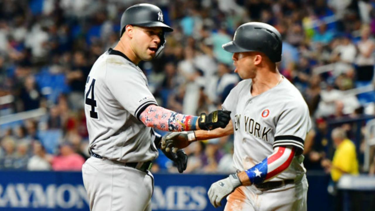 official photos 46262 0a277 DJ LeMahieu and Gary Sanchez help New York Yankees beat ...