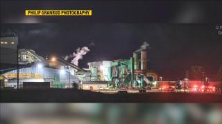 Columbia Falls Plant Fire