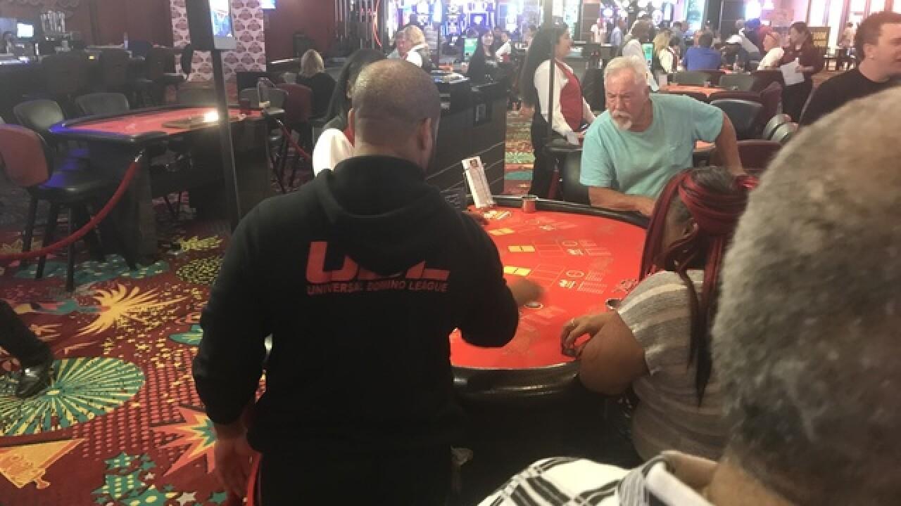 Dominoes makes debut at Las Vegas casino