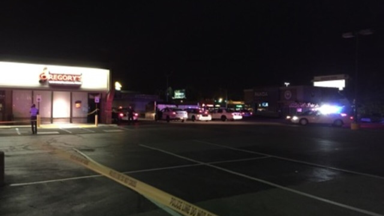 Person critical after shooting near Castleton