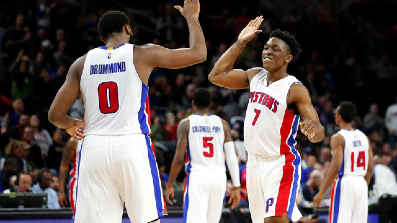 Rookie Kennard sparks Pistons in 112-103 win over Heat