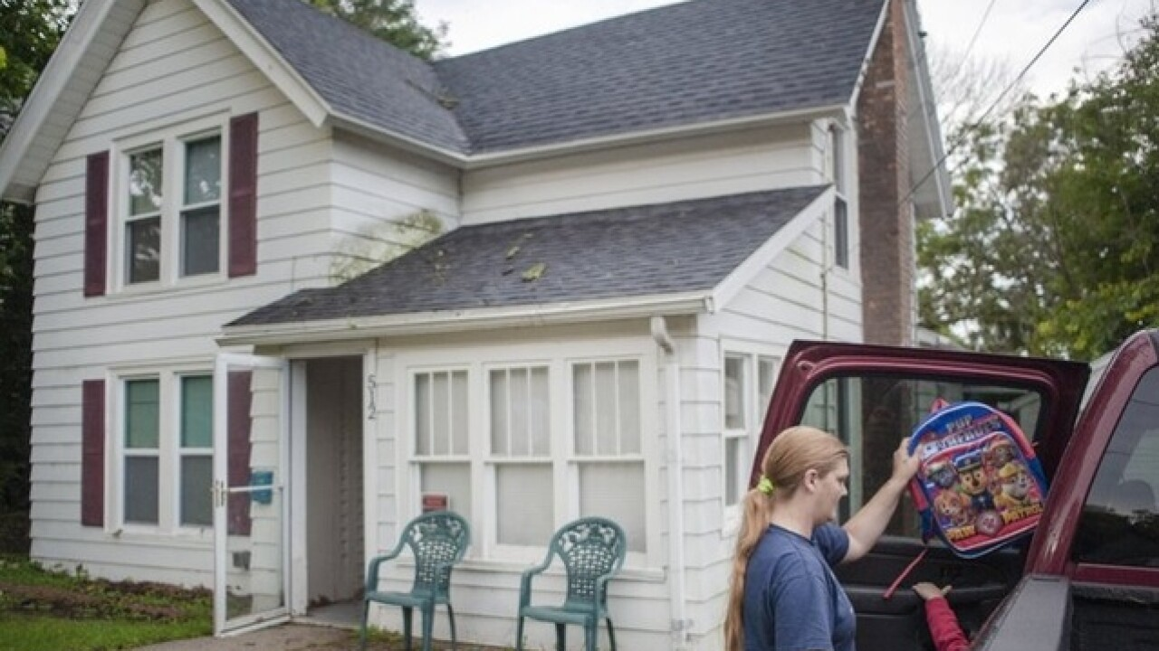 Single mom in Wisconsin goes from homeless to homeowner