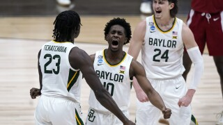 NCAA Arkansas Baylor Basketball