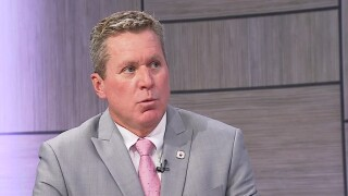 Superintendent Michael Burke of the School District of Palm Beach County speaks to WPTV on Aug. 27, 2021.jpg