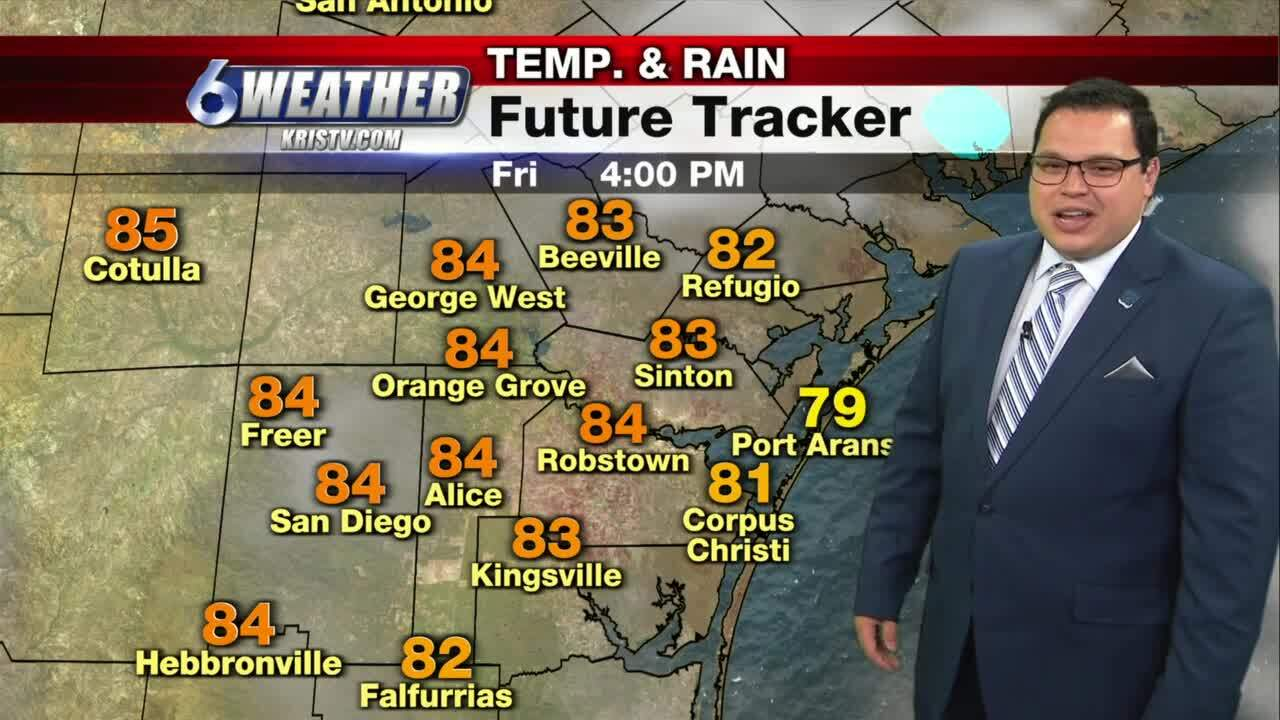 Juan Acuña's weather for Thursday and beyond