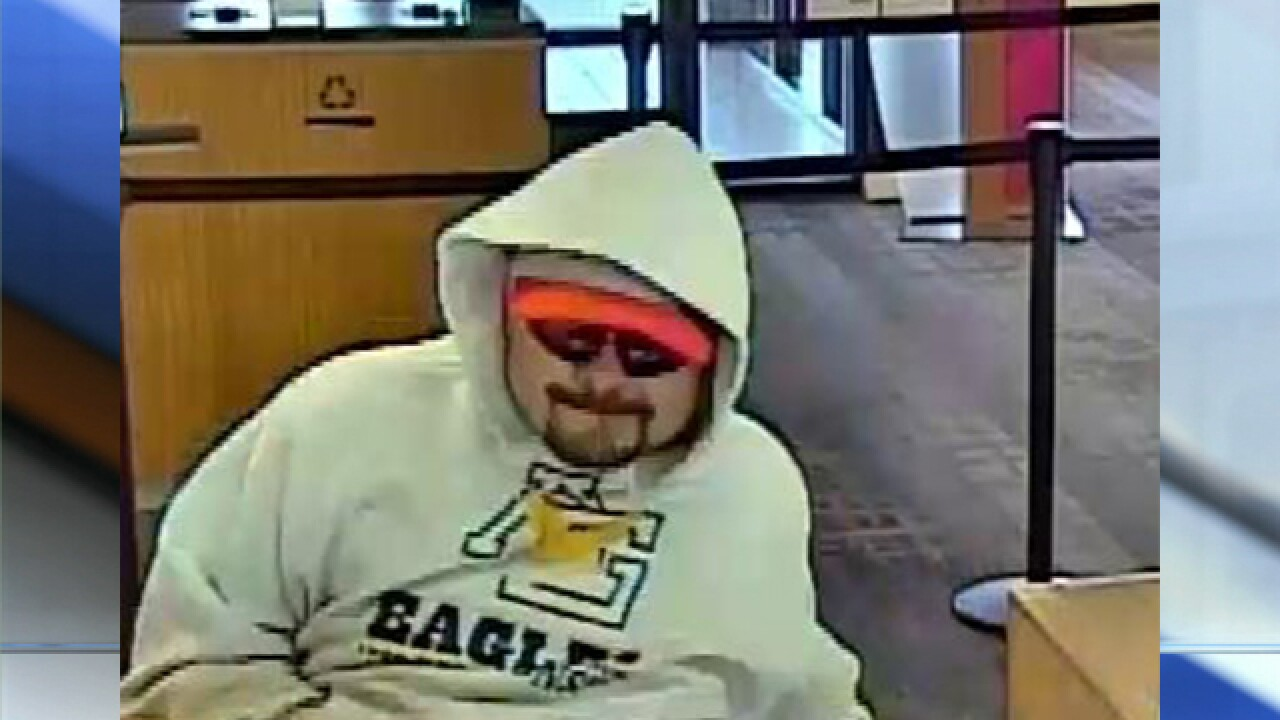 Northland Bank of America robbed
