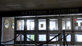 Sinton High School Entrance