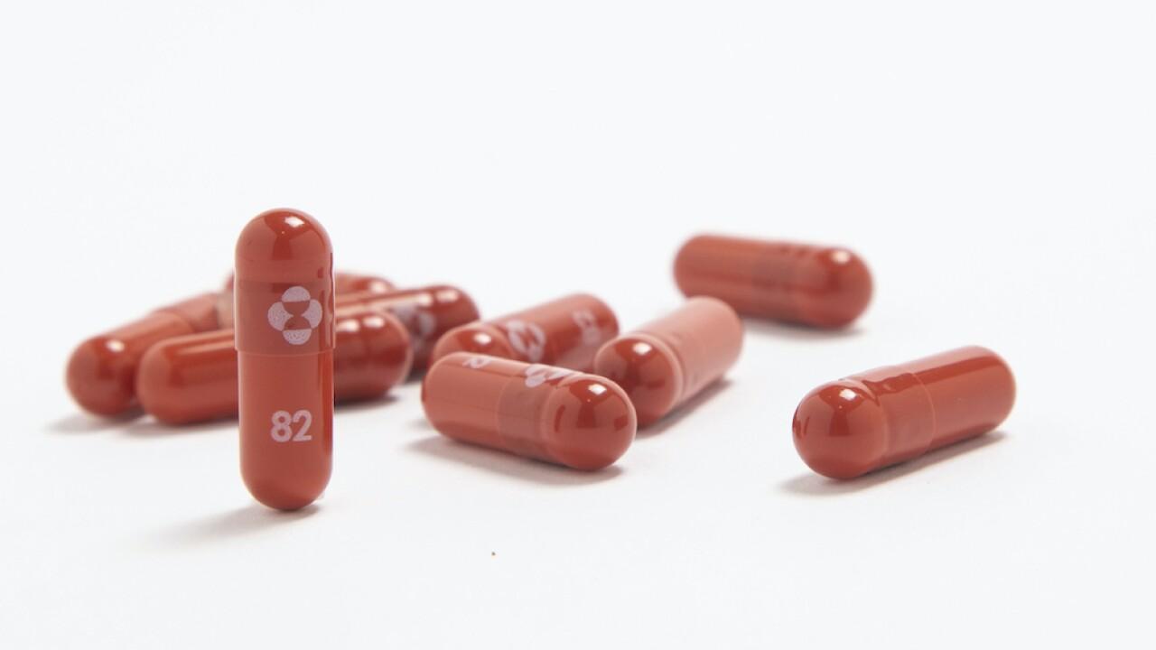 Merck antiviral
