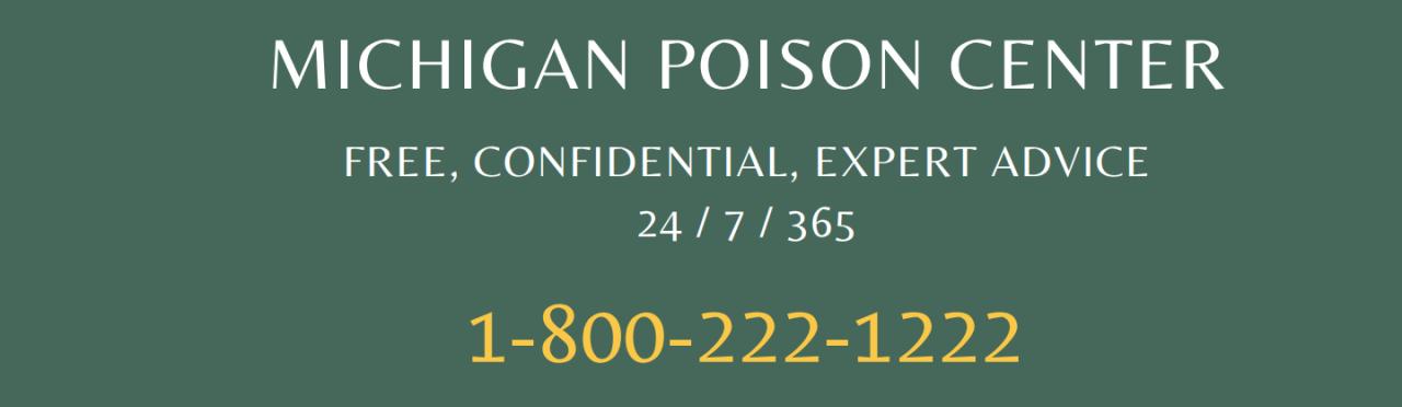 Michigan Poison Center