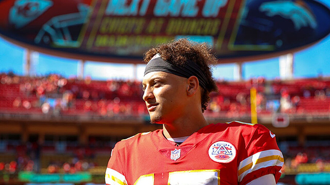 Patrick Mahomes' girlfriend says stepfather died after passing out at Arrowhead