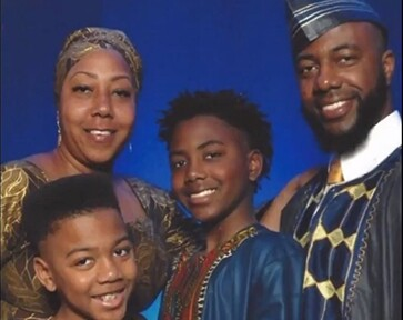 The Lawrence family: Malene Lawrence, Curtis Lawrence III, Corey Lawrence and Curtis Lawrence Jr. – courtesy Lawrence Family.