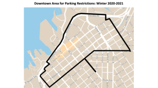 Muskegon downtown parking restrictions