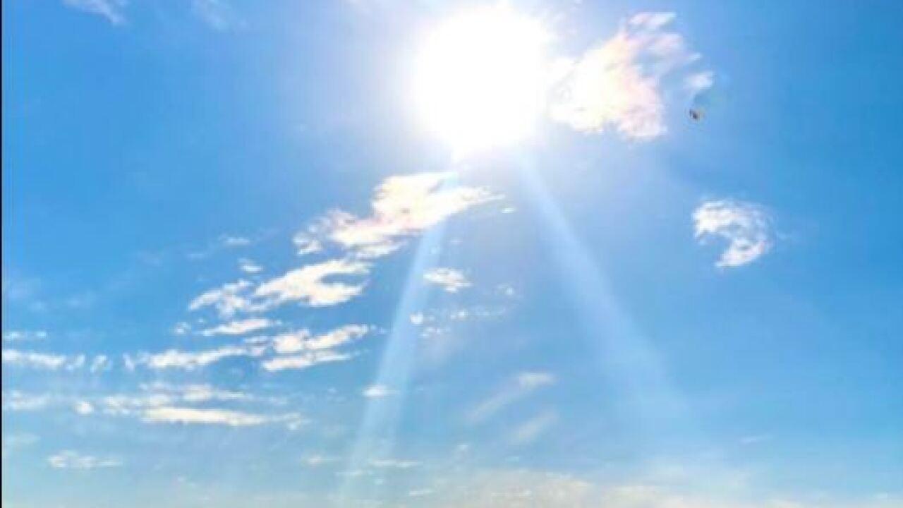 Coastal Sunshine - Photo By: FB Coastal Bend Weather Watcher Leonor Bazan