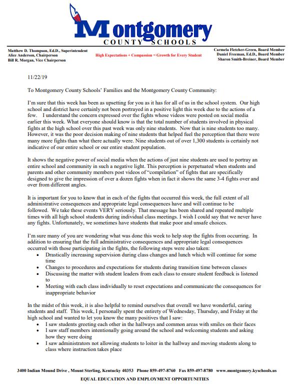 Montgomery Statement Page 1