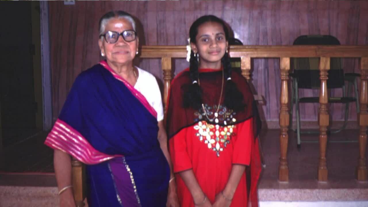 Dr. Sankaranarayana Chandramohan's mother
